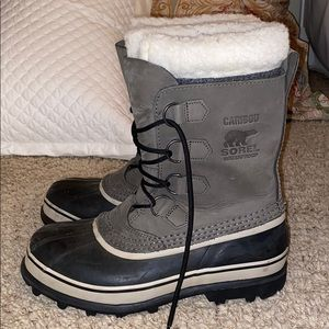 Sorel caribou waterproof snow boots